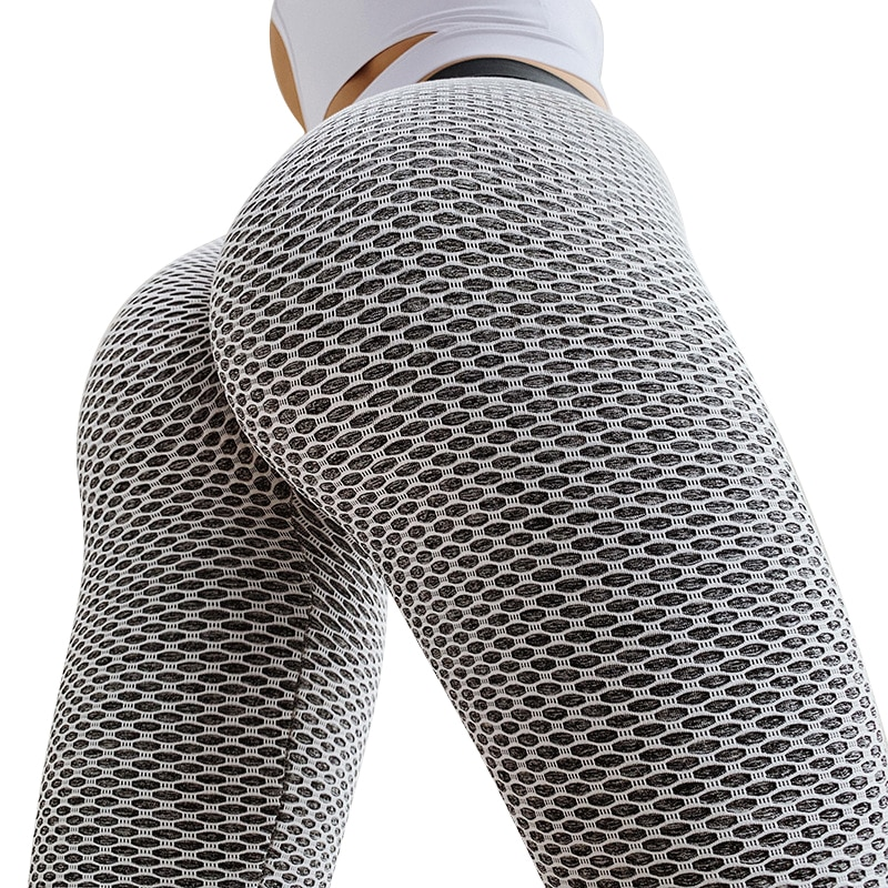 Grid Breathable Tights for Women